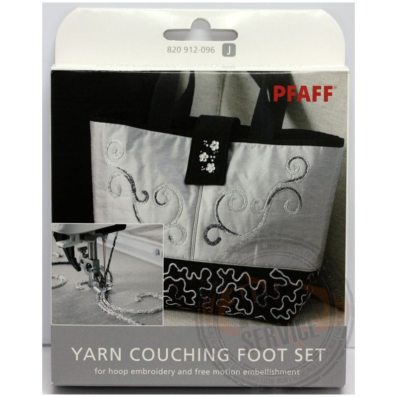 Kit pieds Yarn Couching