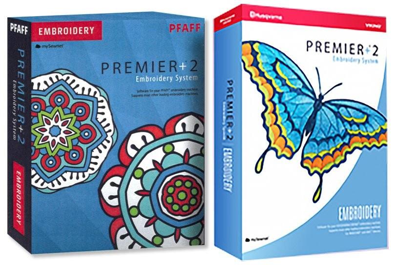 Husqvarna Pfaff Premier +2 Embroidery