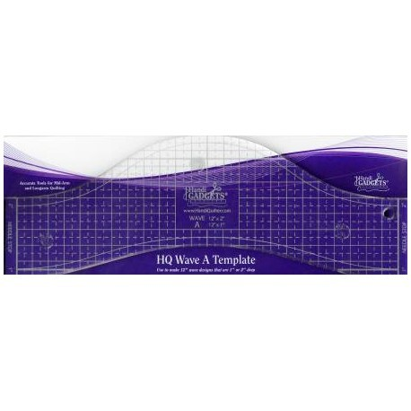 """Handi Quilter Ruler - HQ Wave A 12"""" (30,48cm)"""