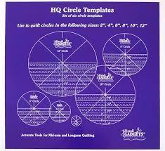 Handi Quilter Ruler Set - HQ Circles