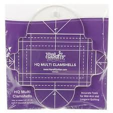 Handi Quilter Ruler - HQ Multi Clamshells