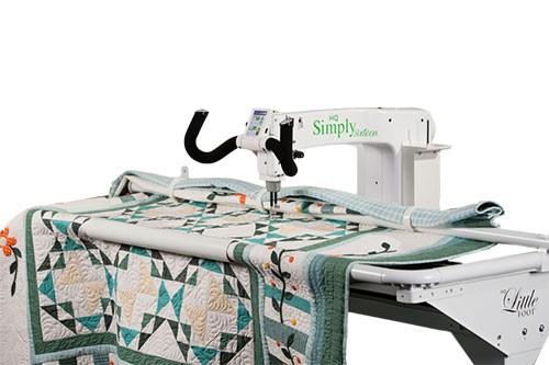 Location de quilteuse dans notre Sewing Space